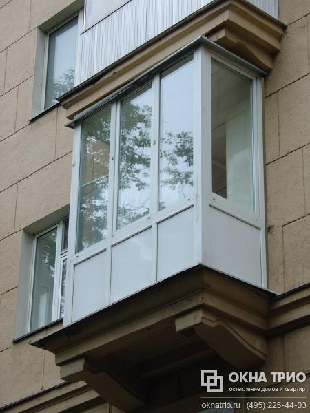 Застеклить балконы москве..